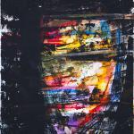 Gesicht - ins Licht | Malerei halb abstrakt | Atelier Franiek | Gemälde und Kunst