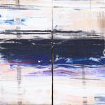 Langer Winter | Malerei halb abstrakt | Atelier Franiek | Gemälde und Kunst