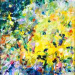 Sommerlust | Malerei halb abstrakt | Atelier Franiek | Gemälde und Kunst