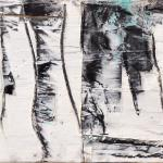 Nebelbild A | Malerei halb abstrakt | Atelier Franiek | Gemälde und Kunst