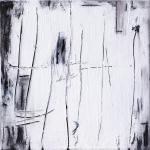 Nebelbild B | Malerei halb abstrakt | Atelier Franiek | Gemälde und Kunst