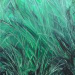 Gras | Malerei halb abstrakt | Atelier Franiek | Gemälde und Kunst