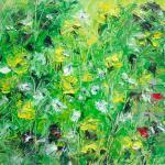 Frühling | Malerei halb abstrakt | Atelier Franiek | Gemälde und Kunst