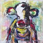 Die Unantastbare | Malerei halb abstrakt | Atelier Franiek | Gemälde und Kunst