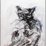 Eschra | Malerei halb abstrakt | Atelier Franiek | Gemälde und Kunst