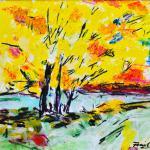 Sommer-Duft | Malerei halb abstrakt | Atelier Franiek | Gemälde und Kunst