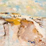 Am Meer | Malerei halb abstrakt | Atelier Franiek | Gemälde und Kunst