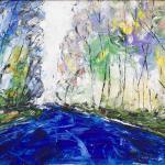 Der Weg | Malerei halb abstrakt | Atelier Franiek | Gemälde und Kunst