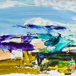 Landschaft-Süden | Malerei halb abstrakt | Atelier Franiek | Gemälde und Kunst