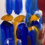 Unterwegs | Malerei halb abstrakt | Atelier Franiek | Gemälde und Kunst