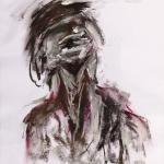 König Ödipus | Malerei halb abstrakt | Atelier Franiek | Gemälde und Kunst