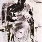 Ohne Namen | Malerei halb abstrakt | Atelier Franiek | Gemälde und Kunst
