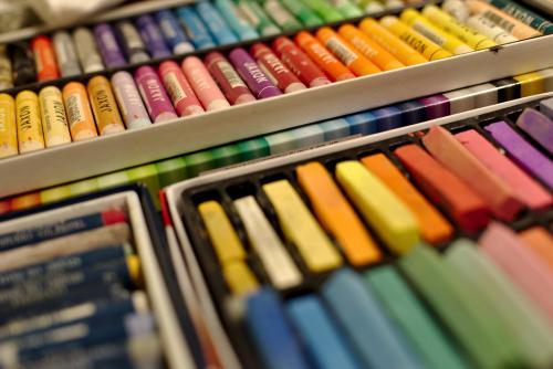 Werkstatt | Malerei halb abstrakt | Atelier Franiek | Gemälde und Kunst