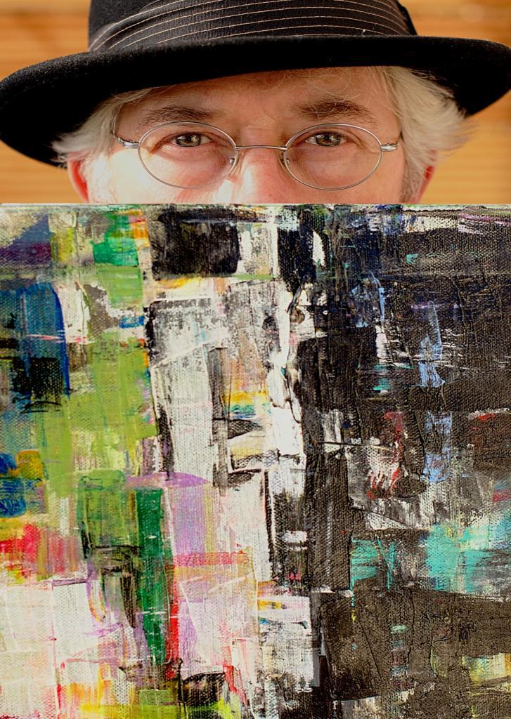 Portrait | Malerei halb abstrakt | Atelier Franiek | Gemälde und Kunst