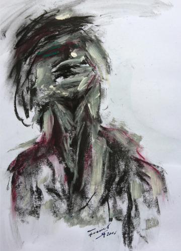 Shop: König Ödipus | Malerei halb abstrakt | Atelier Franiek | Gemälde und Kunst