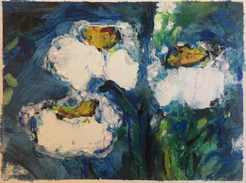Shop: Blumen | Malerei halb abstrakt | Atelier Franiek | Gemälde und Kunst