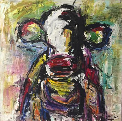 Shop: Die Unantastbare | Malerei halb abstrakt | Atelier Franiek | Gemälde und Kunst